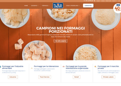 Dalter Alimentari Website