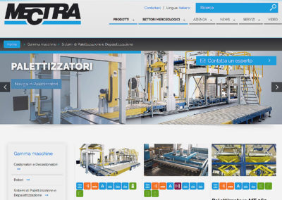 Mectra Website